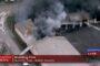 Crews Battle Fire At Hunter Truck Body Shop
