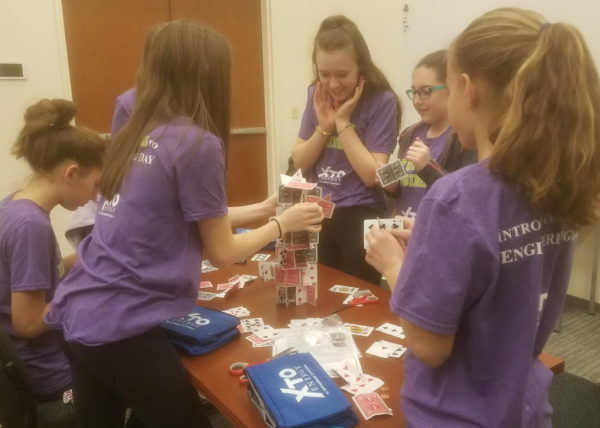Butler Students Learn About STEM Careers Through 'Introduce A Girl To Engineering Day'