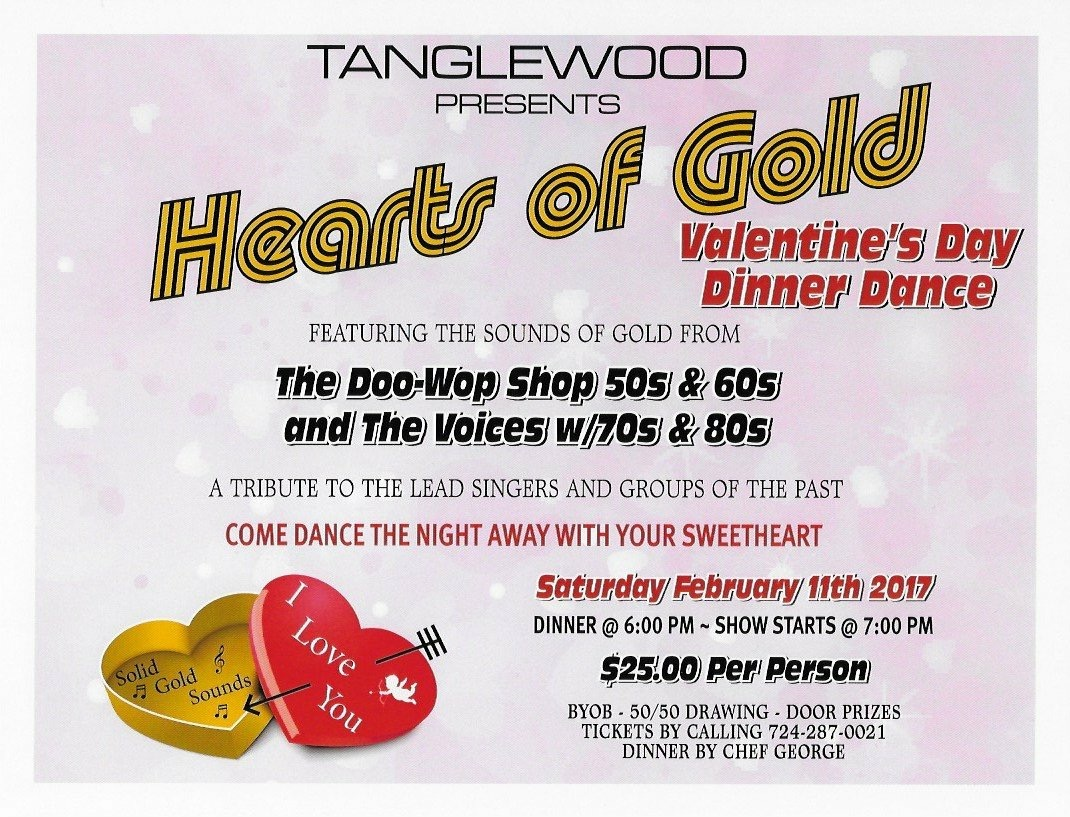 Hearts Of Gold Valentine S Day Dinner Dance Butlerradio Com