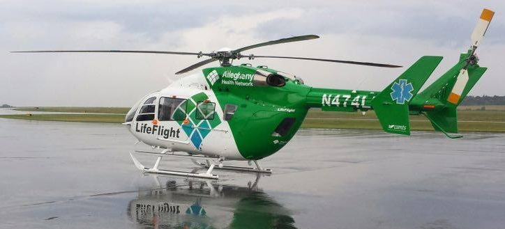 Two Flown To Hospital Following Rt. 8 Motorcycle Accident