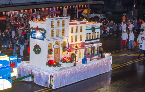Spirit Of Christmas Parade Saturday; Downtown Activities All Day