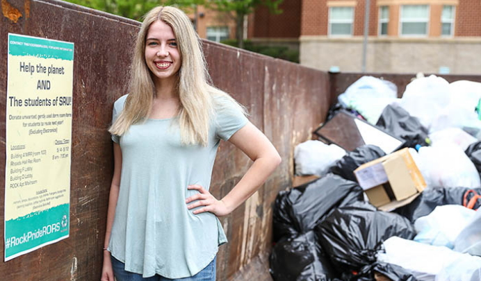 Dorm Donations: Grad Student Collected Unwanted