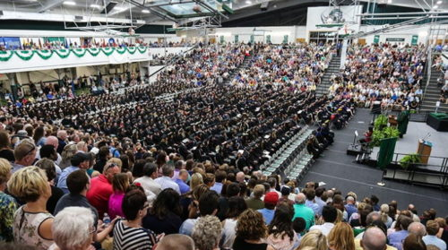 It's Graduation Weekend For 600 SRU Students