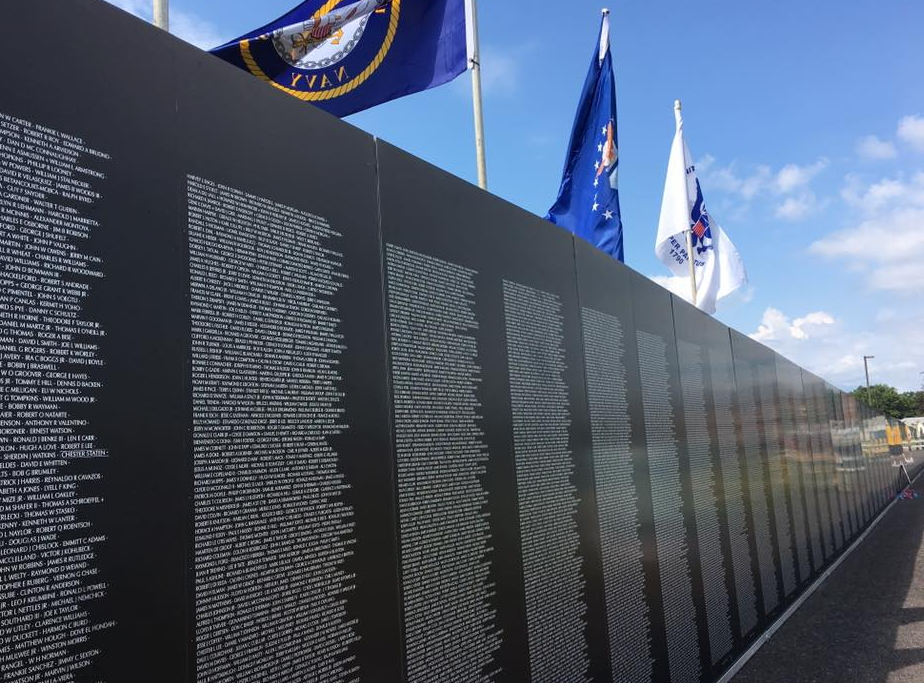 Ceremonies Set for Saturday at American Veterans Traveling Tribute Wall